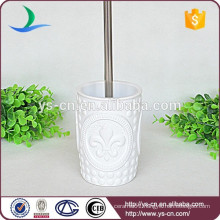 YSb50036-01-tbh High quality porcelain toilet brush holder